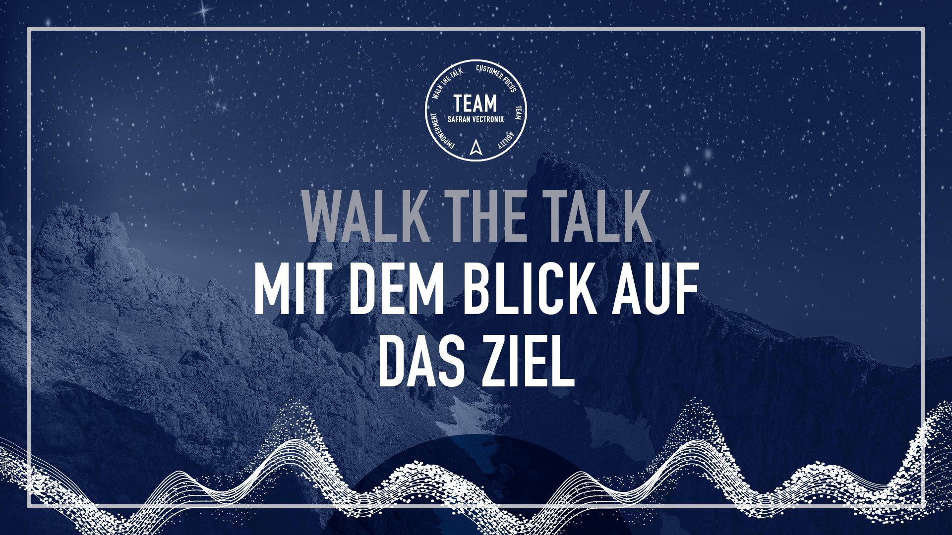 safran vectronix values walk-the-talk